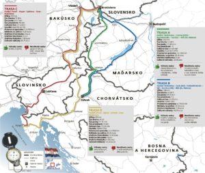 Varianty cesty do Chorvatska