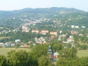 pohľad z Kalvárie