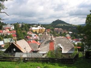 pohľad na mesto a Kalváriu