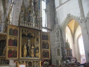 v Bazilike sv. Egídia