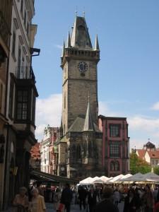 Staromestký orloj na južnej strane veže Staromestskej radnice