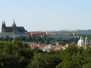 pohlad na Katedrálu svätého Víta, Václava a Vojtecha